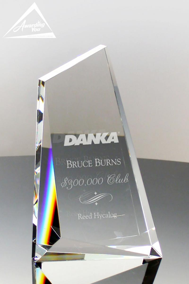 Engraved Crystal awards are an excellent addition to any safety award program
