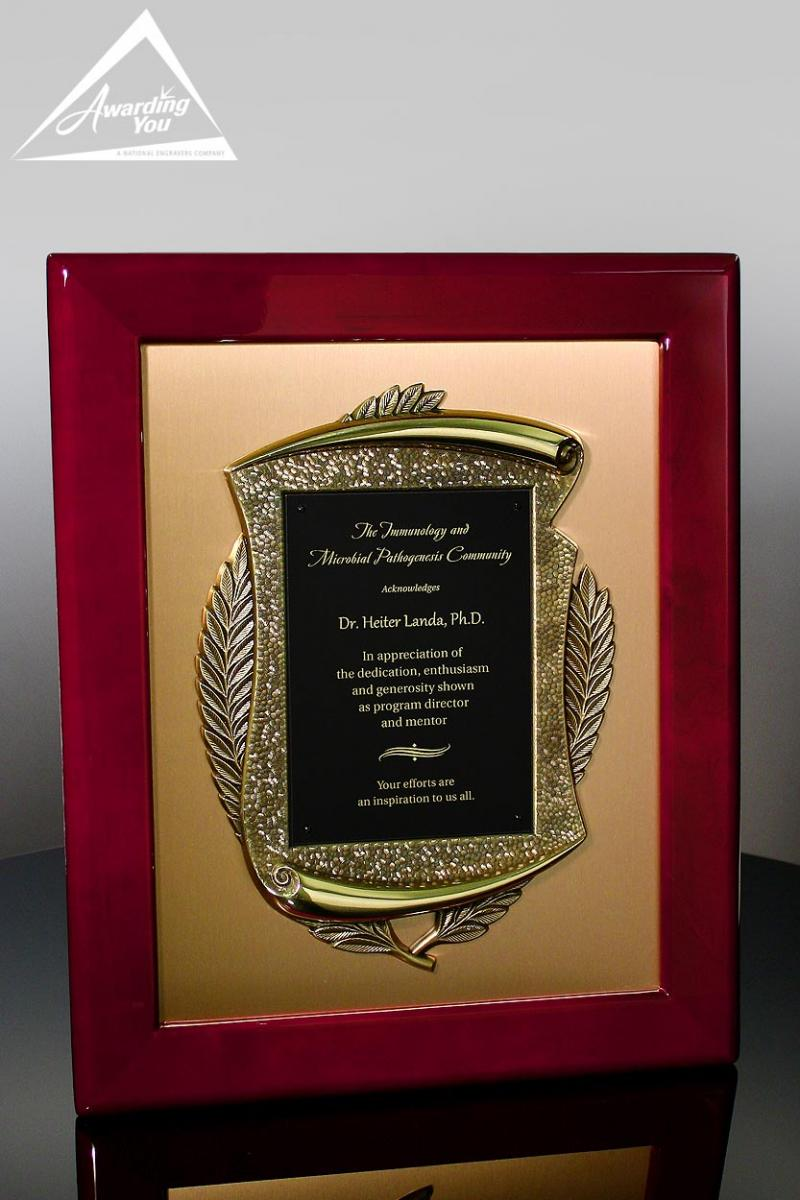 retirement award clock plaque and gift ideas and wording