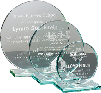 Engraved Glass and Crystal Awards, Plaques, and Gifts