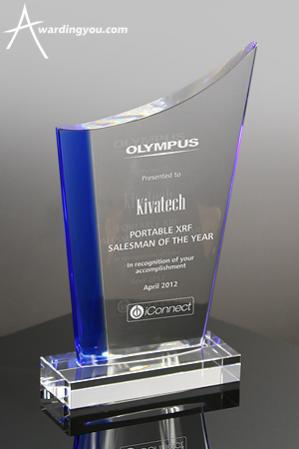 Olympus Blue Crystal Award