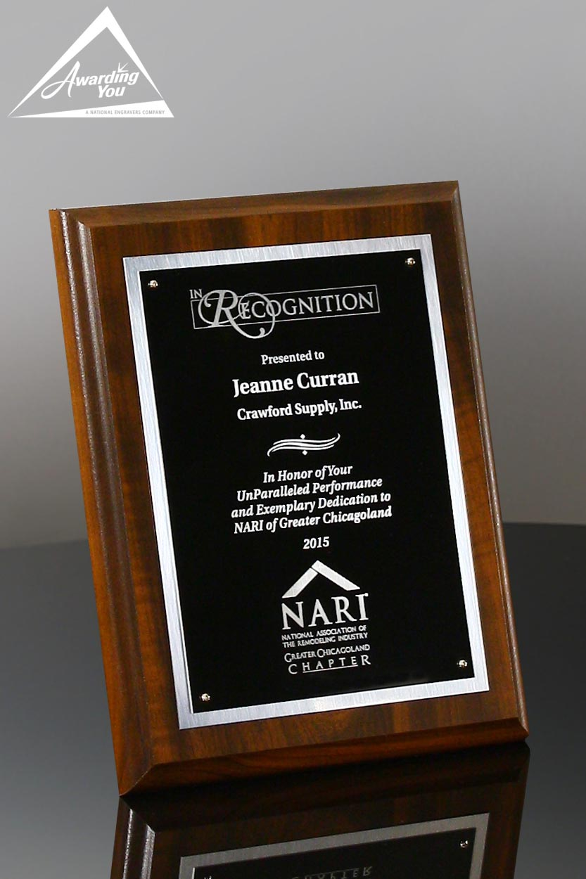 Grant Award Plaque