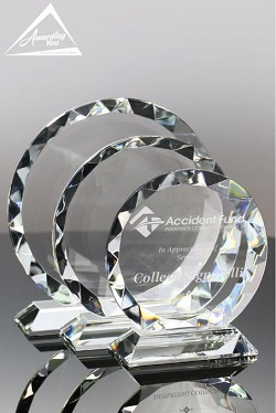 Gemcut Crystal Achievement Award for Virtual Event Ceremony